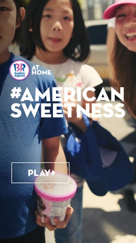 Baskin Robbins Mobile Website Design