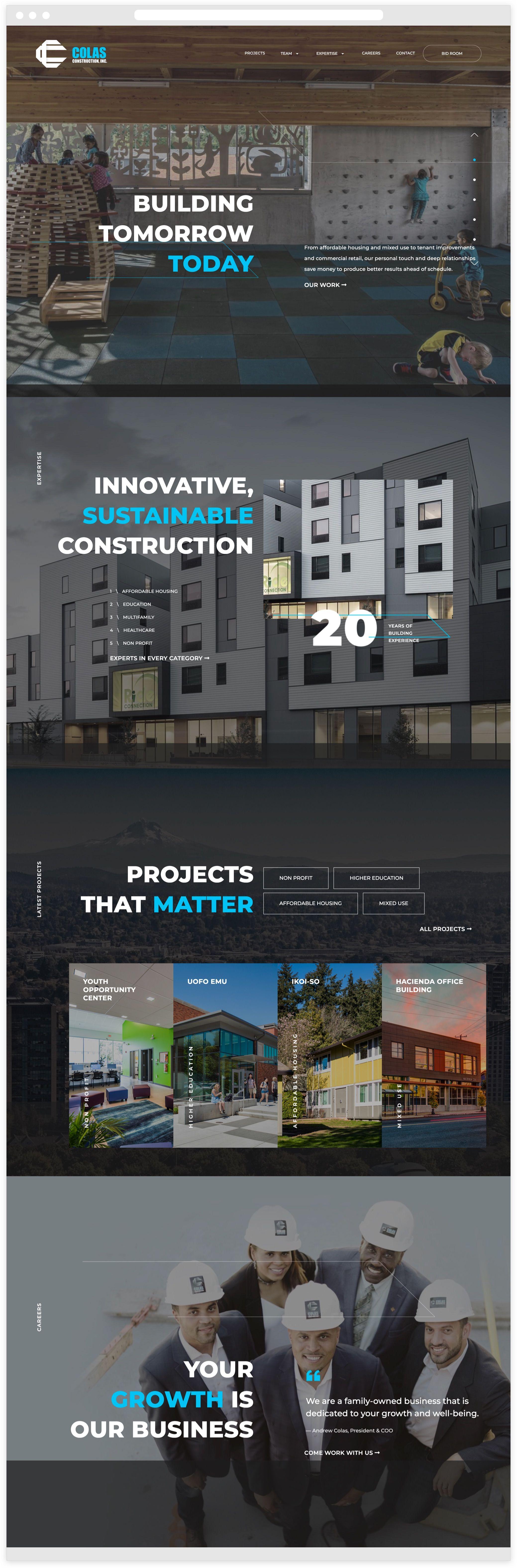 Colas Construction - Desktop Version
