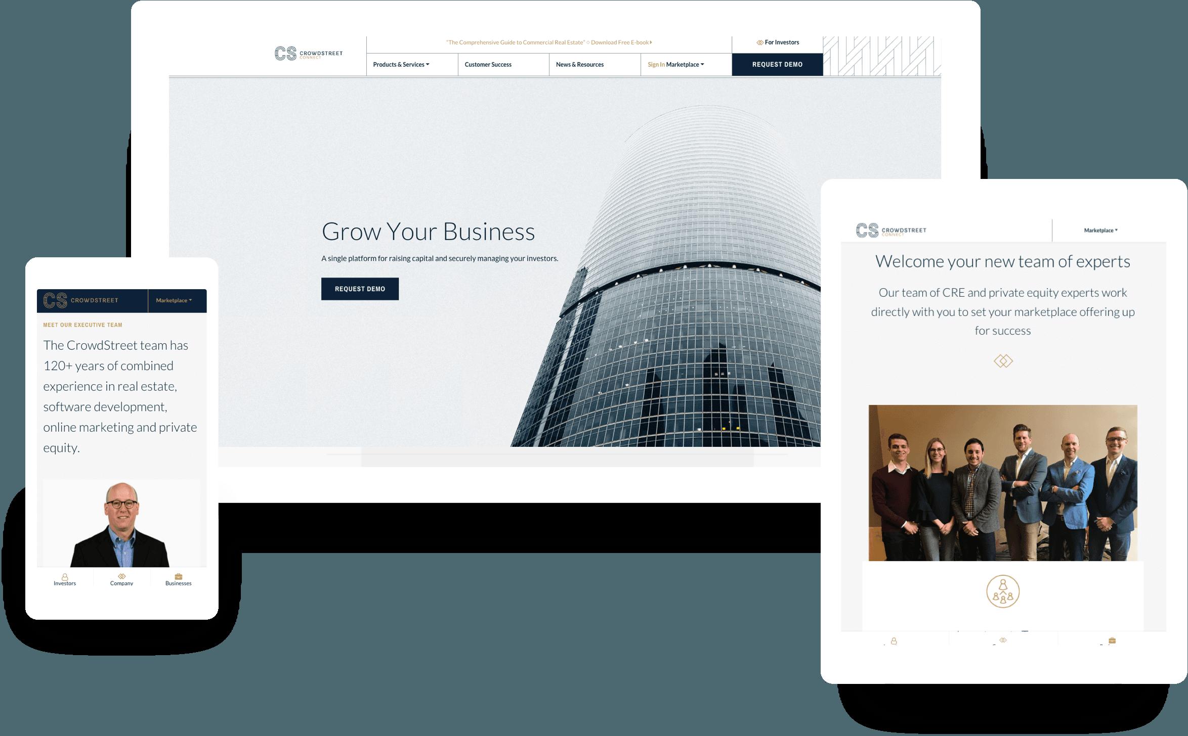 Crowdstreet Responsive Web Design