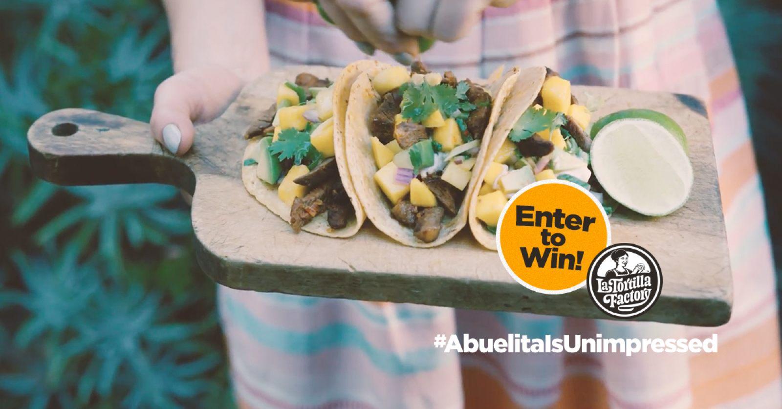 La Tortilla Factory Ad Campaign Image Example