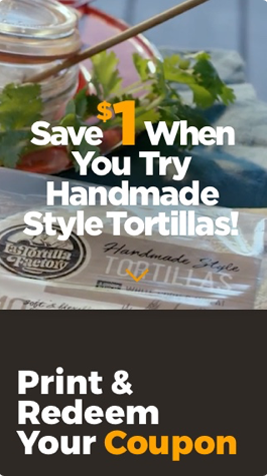 La Tortilla Ad Campaign Mobile Website Design