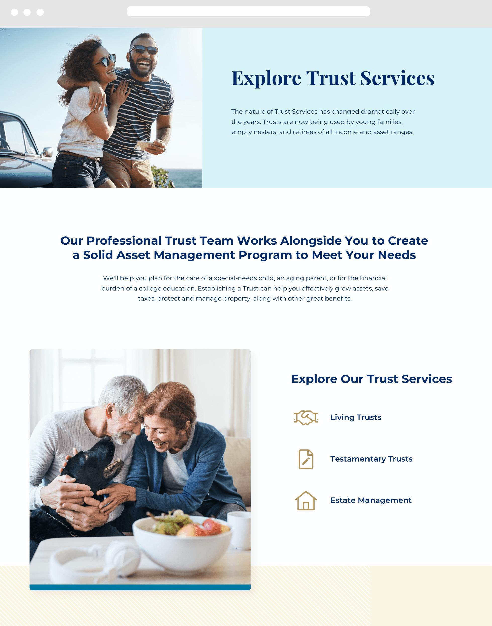 Pioneer Trust Desktop Example