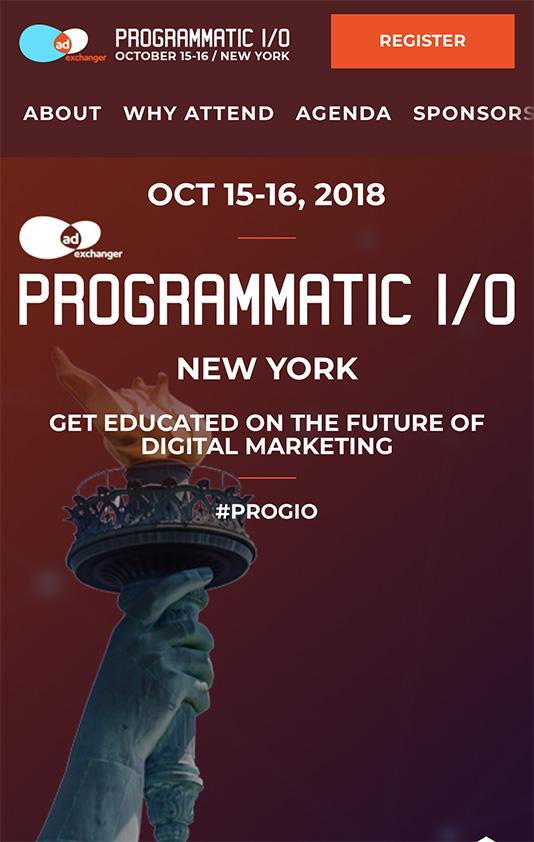 Programmatic IO Mobile Design