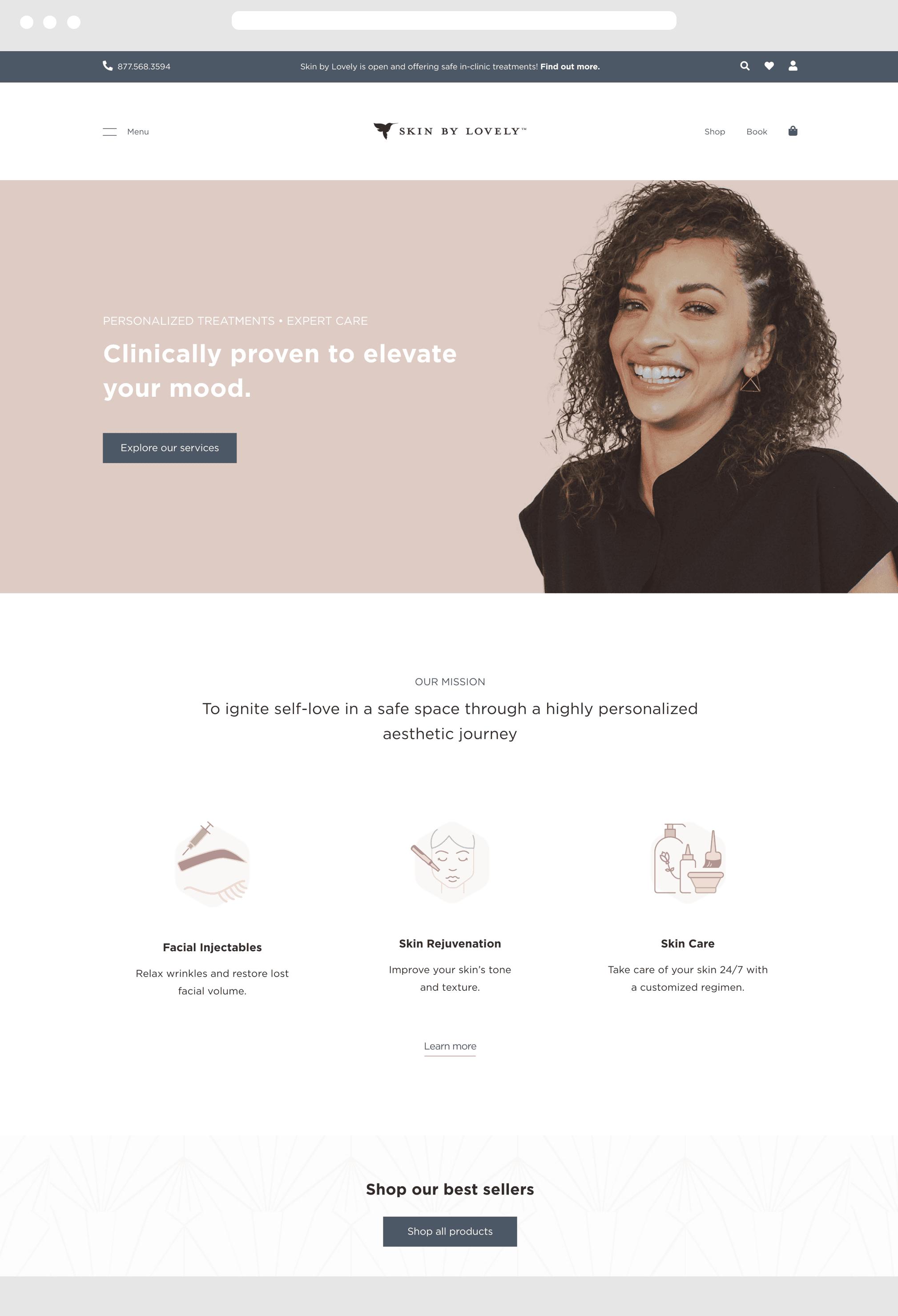 Yakima Desktop Website