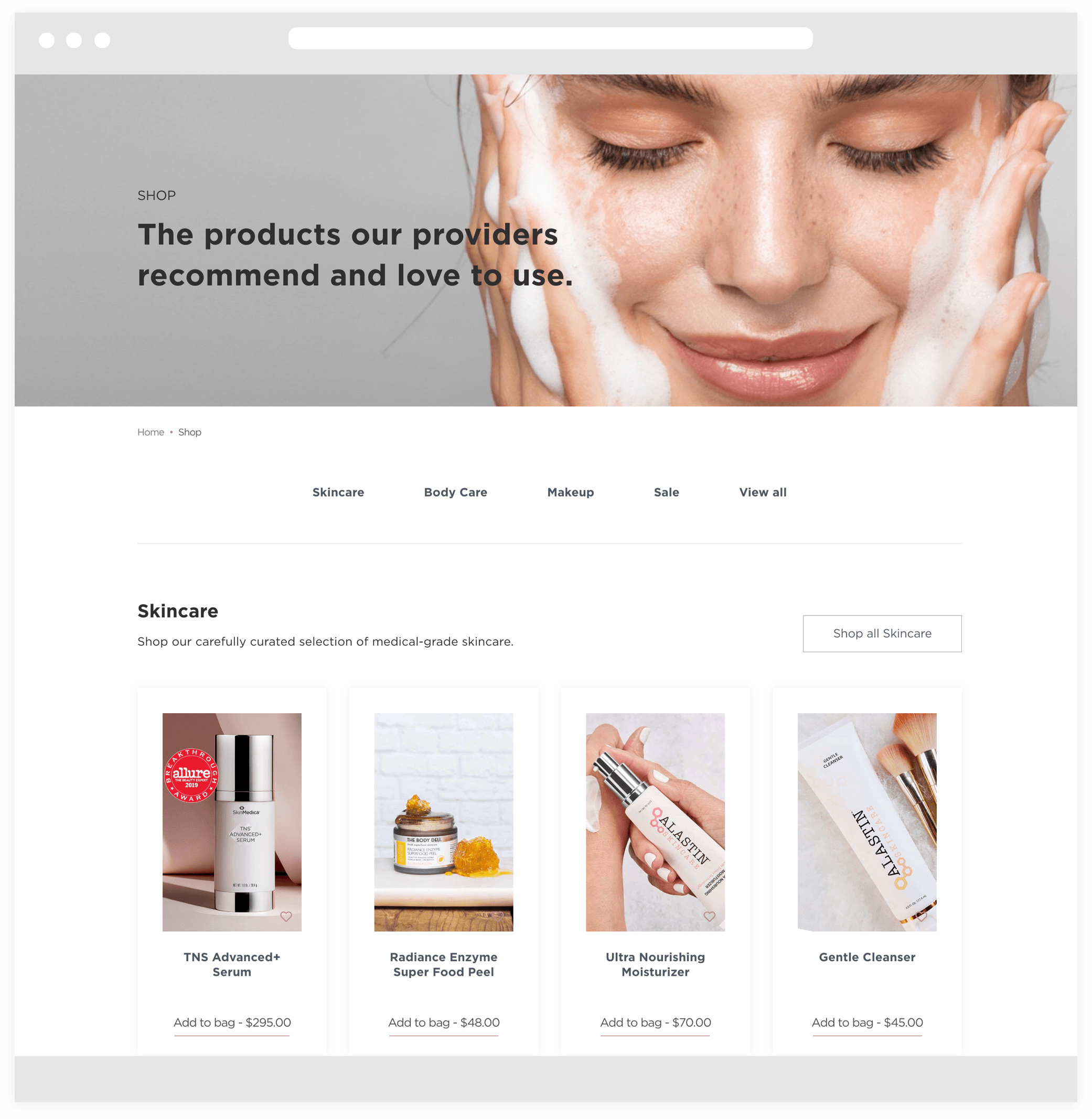 Skin by Lovely Shop