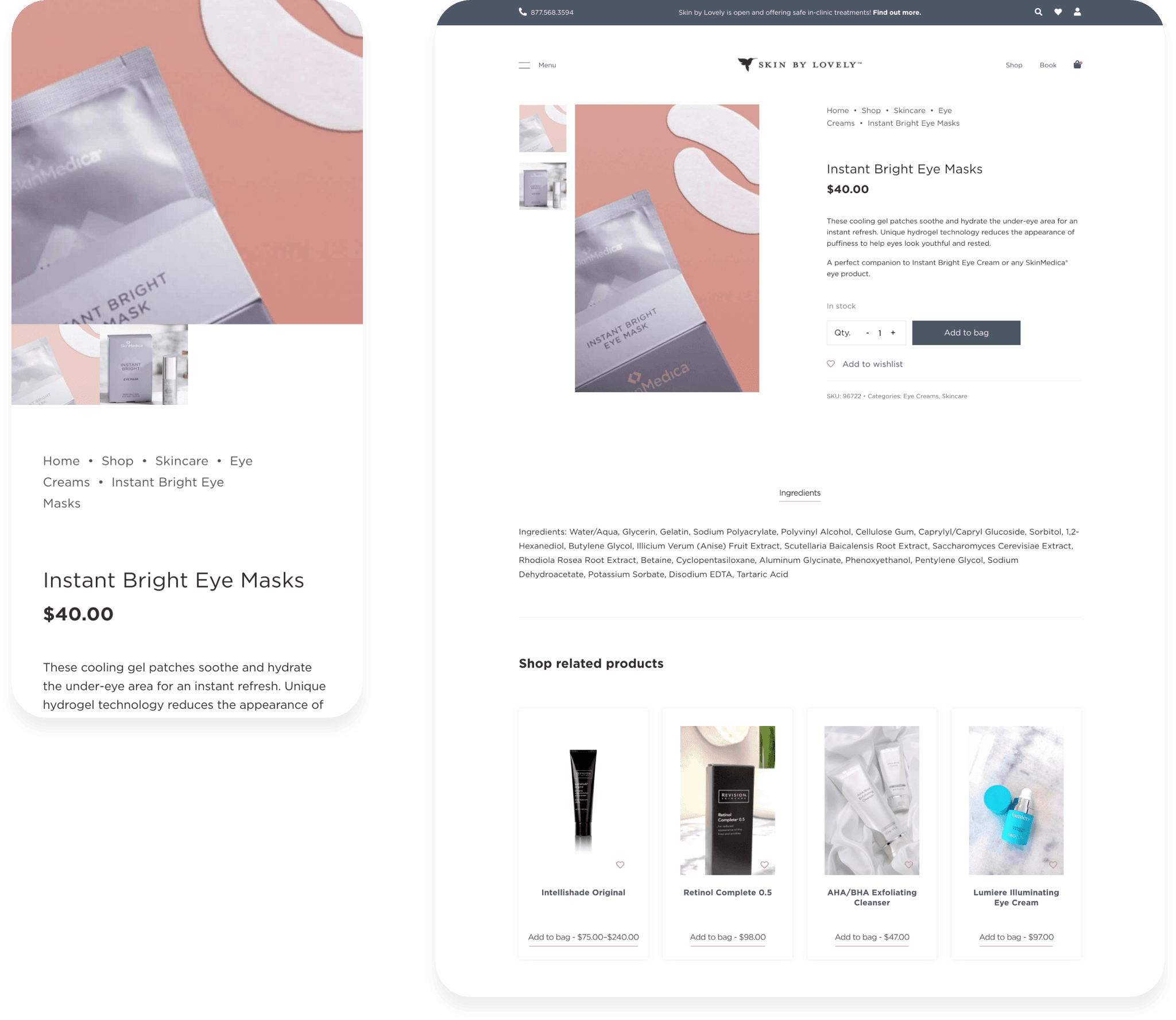 Skin by Lovely Device Comparison