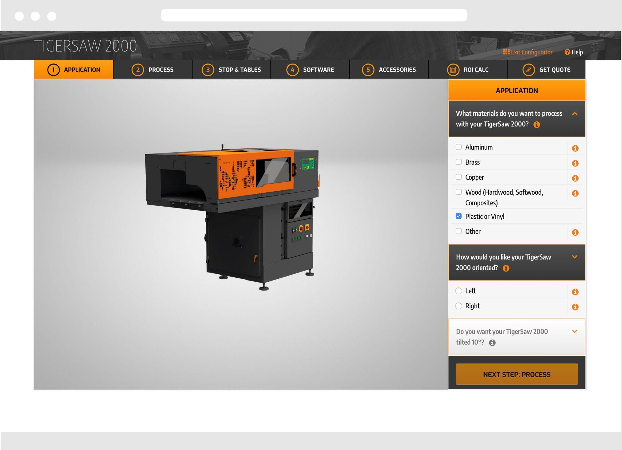 TigerStop Desktop Website